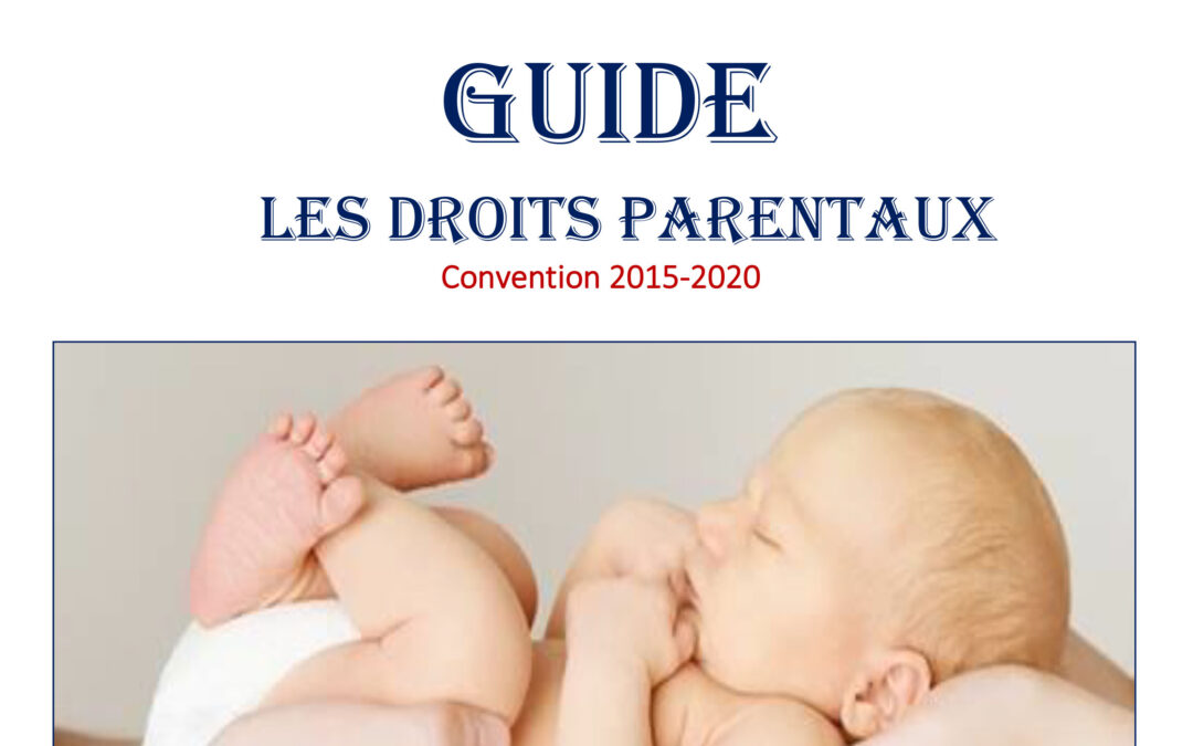 Guide les droits parentaux – Convention 2015-2020