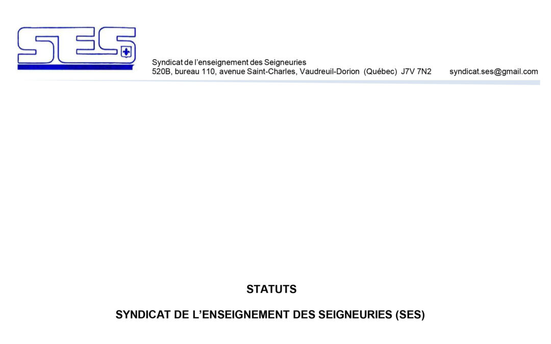Statuts (juin 2017)