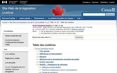 Loi sur l'assurance-emploi